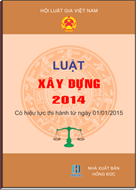 LUẬT XÂY DỰNG 2014, LUAT XAY DUNG 2014